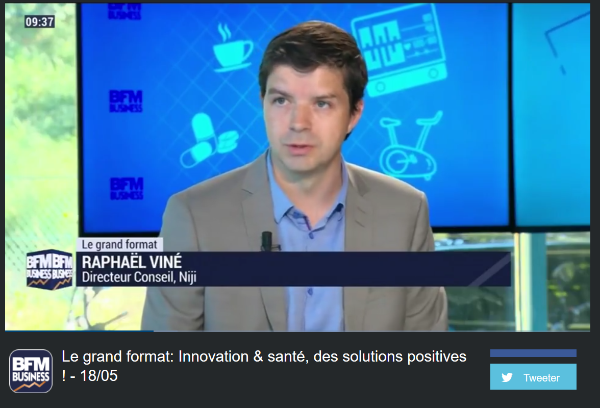 BFM Business: Le grand format: Innovation & Santé, des solutions positives !