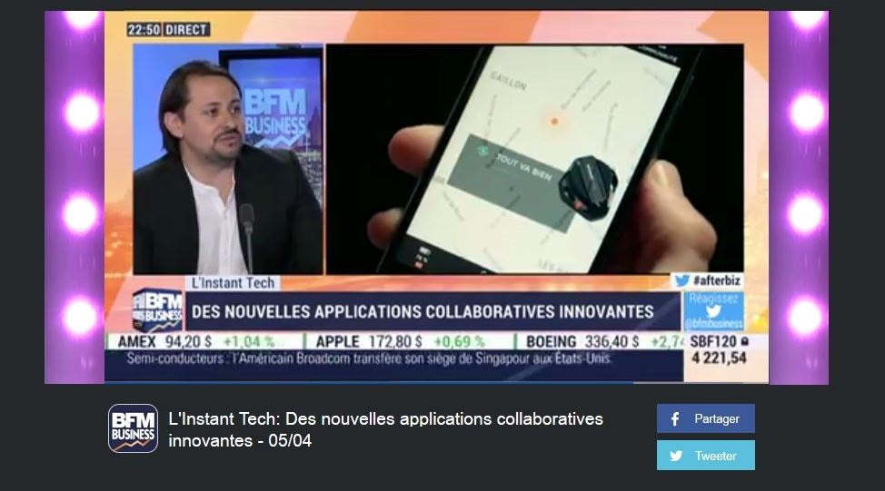 BFM Business : Des nouvelles applications collaboratives innovantes - 05/04
