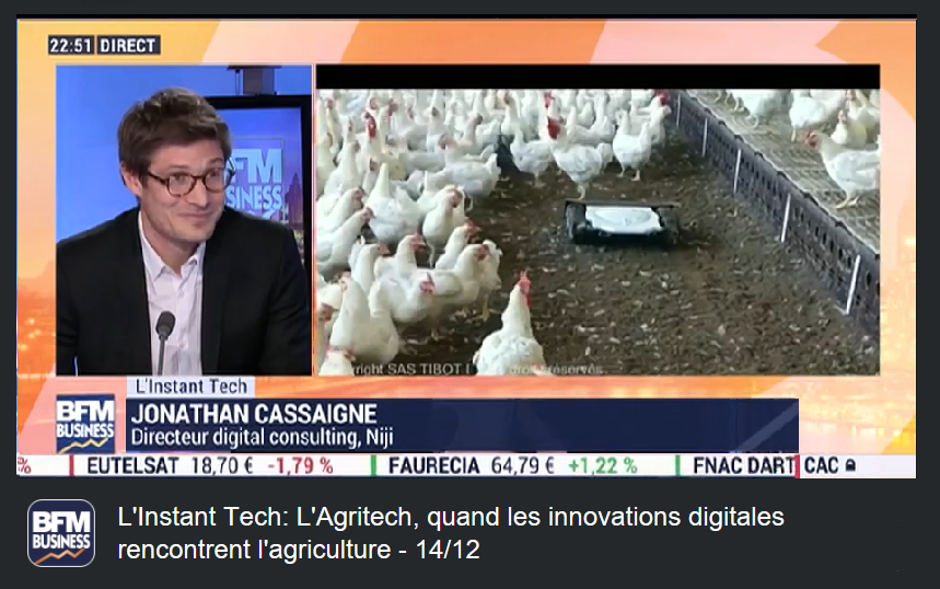 BFM Business: L'Agritech, quand les innovations digitales rencontrent l'agriculture