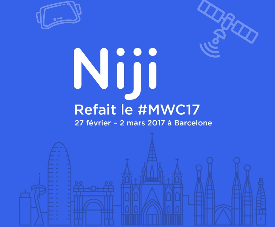 Niji refait le Mobile World Congress de Barcelone !